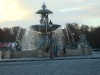 Fountains at Place de la Concorde